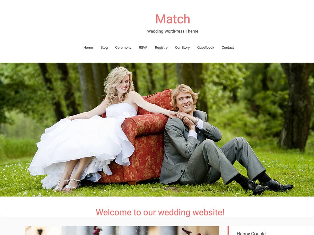 match - 10+ Best Free & Responsive WordPress Themes 2016