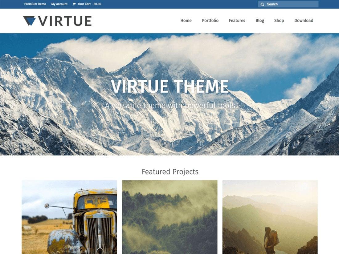 virtu them - 10+ Best Free & Responsive WordPress Themes 2016