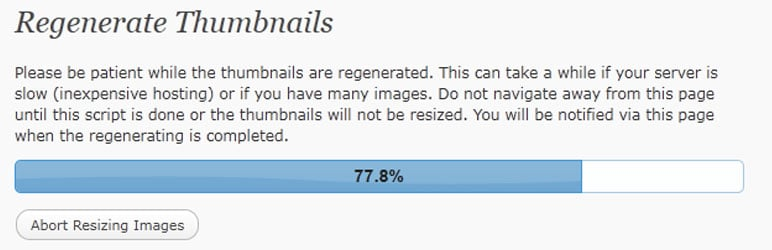 #9: Best WordPress Thumbnails Regenerate Plugin – Regenerate Thumbnails