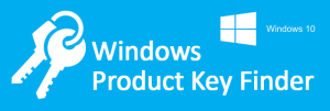 Windows 10 or 8 or 7 Product Key Finder the Easy Way