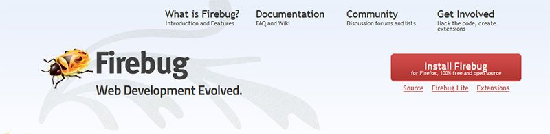 #3: Web Development Tool - Firebug