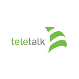 teletalk logo - GP, Banglalink, Robi, Airtel, Teletalk Emergency Balance