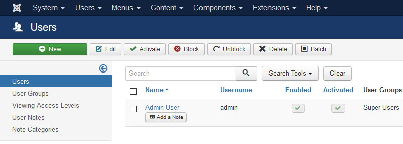 Joomla Admin Super User - Joomla Security Checklist Best Practices to Protect From Hackers