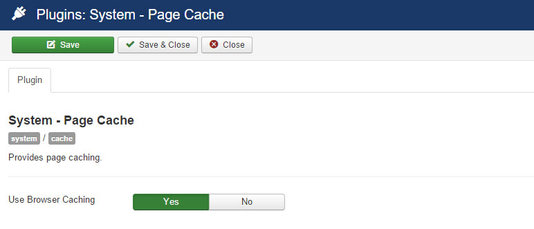 Joomla Browser Caching - How to Speed Up Joomla To Improve Site Performance