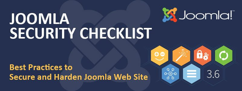 Joomla Security Checklist Best Practices to Protect From Hackers ...