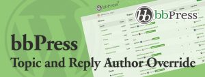 bbPress Topic and Reply Author Override 300x113 - bbPress Topic and Reply Author Change / Override