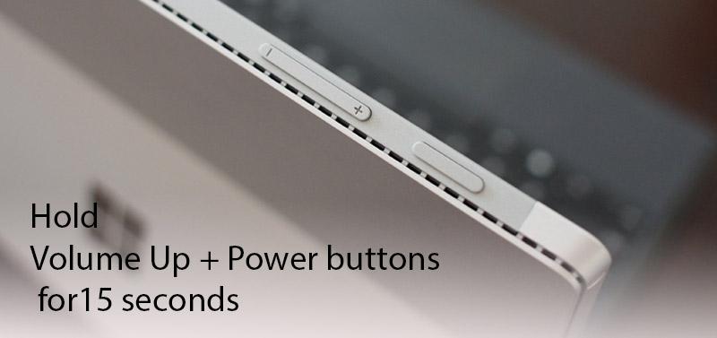 Surface Pro Two Button Shutdown - How to Shutdown Surface Pro