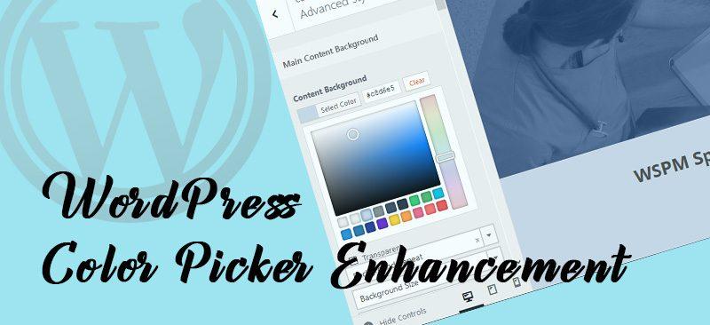 wp color picker enhancement 800x366 - WordPress Color Picker Enhancement