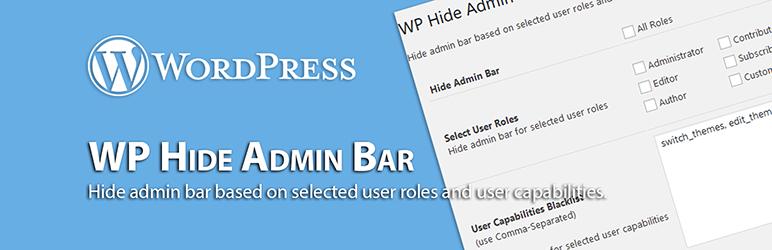WordPress Hide Admin Bar - WordPress Hide Admin Bar